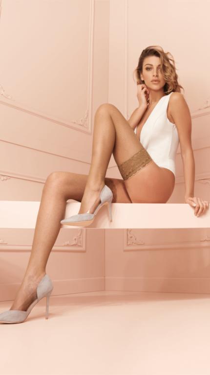 Stay-ups - Stockings Ambra autoreggente 00062