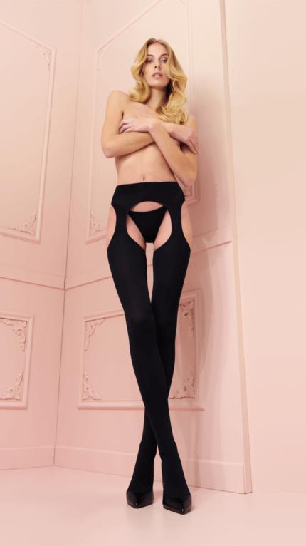 Open tights Cortina strip panty 00184